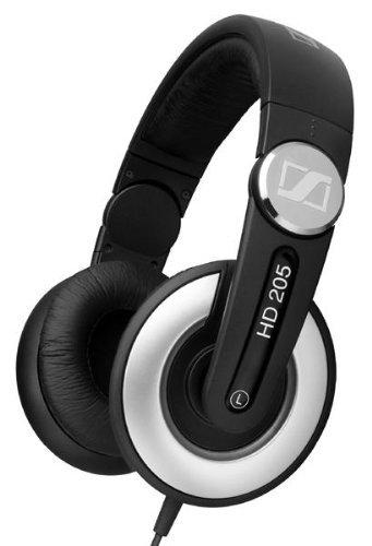 [3% Qipu] Sennheiser HD 205 II geschlossener Stereo-Kopfhörer in schwarz für 24,99€ frei Haus @DC