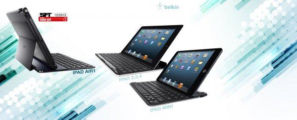 Belkin Bluetooth Tastaturen für iPads (nur Schweiz/FL online)