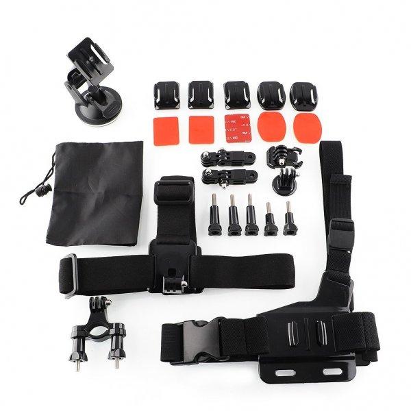 26 teiliges GoPro Montage Set für nur 20,-€ Inkl. Versandkosten!
