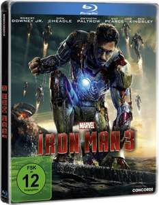 @Amazon: Iron Man 3 (Steelbook) [Blu-ray] [Limited Edition] für nur 8,79 €