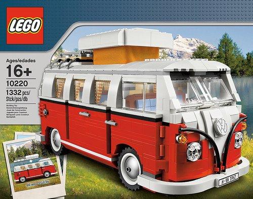 Lego Volkswagen T1 Campingbus 10220 ebay 87,3 €