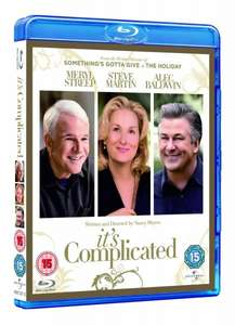 Blu-ray - It's Complicated (Wenn Liebe so einfach wäre) für €4,37 [@Wowhd.co.uk]