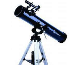 Saturn Wolfsburg: Dörr Danubia Meteor 31 komplett ausgestattetes Reflektorteleskop (76mm Öffnung)