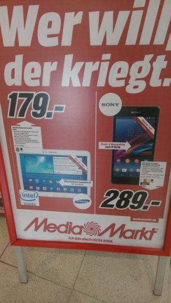 Lokal: Stuttgart - MediaMarkt Stuttgart Schwabengalerie Samsung Galaxy Tab 3 10.1 WiFi - 179 €