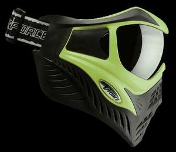 Paintball-Maske VForce Grill Schwarz/Grün