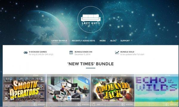 [Steam] Lazy Guys - New Times Bundle