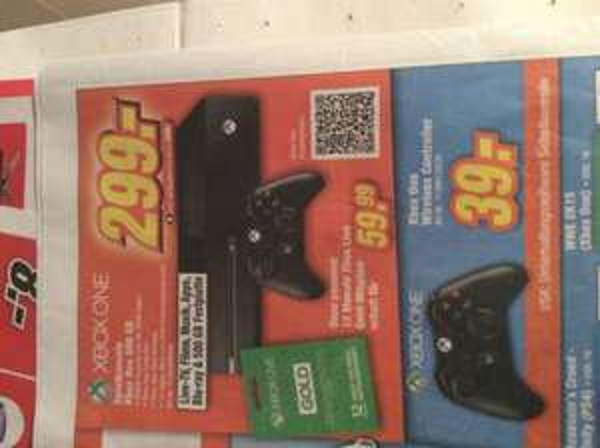 [Lokal] Xbox one 299€ Bei expert