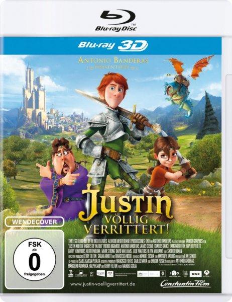 Justin - Völlig verrittert! (inkl. 2D-Version) [3D Blu-ray] [Prime] - 9,99€