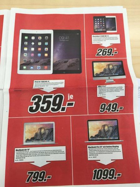 [Lokal] MediaMarkt Düsseldorf Metrosstraße MacBook Air MD760 und anderes