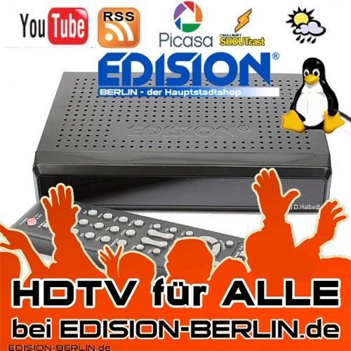 Edision Argus Pingulux Sommeraktion - Linux-Sat-Receiver für 109,90€