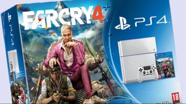 PS4 Weiß + Far Cry 4 für 399,- @expert Klein