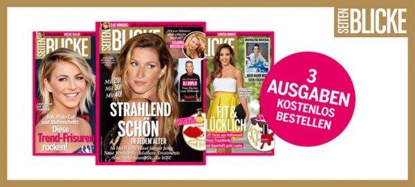 Österreich - 3x Seitenblicke Magazin kostenlos und unverbindlich testen