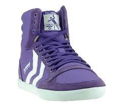 HUMMEL SLIMMER STADIL High Canvas // Farbe Royal purple // nur noch Größe 43 // @meinpaket