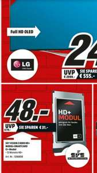 [Lokal] Rostock Brinckmannsdorf MM HD+ Karte inkl. CI Modul ab 48€