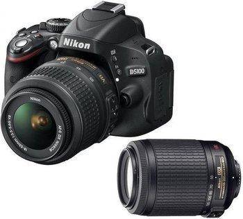 Nikon D5100 Kit 18-55 mm + 55-200 mm für 503,99 € @Saturn.de