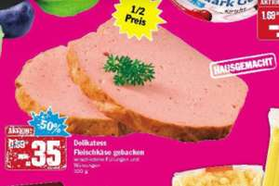 Fleischkäse versch. Sorten - Hausgemacht 100g für 35 Cent - HIT Markt ab 20.11 - 22.11.2014