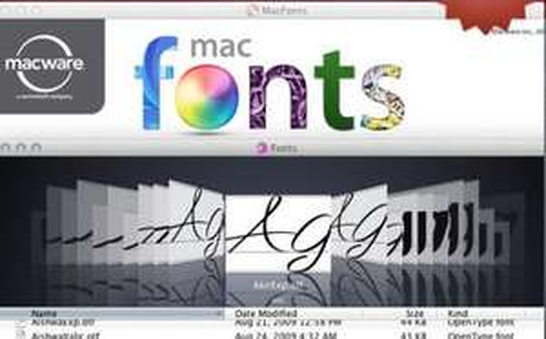[Für MAC] 2.000 Schriftarten gratis (auch für kommerziellen Nutzen)
