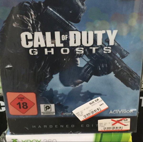 [Mediamarkt Mannheim Sandhofen] Call of duty Ghost hardenend Edition