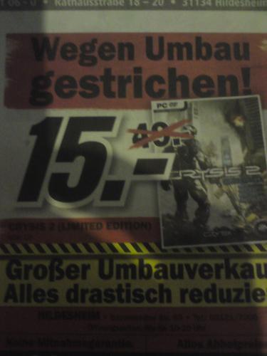 [LOKAL] Crysis 2 - @Media Markt Hildesheim