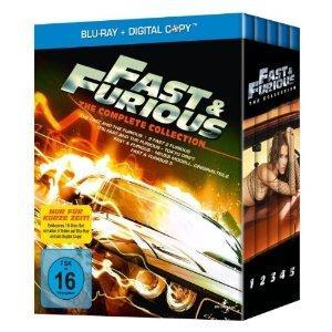Fast & Furious 1-5 [Blu-Ray] für NUR 31,97€ @Amazon