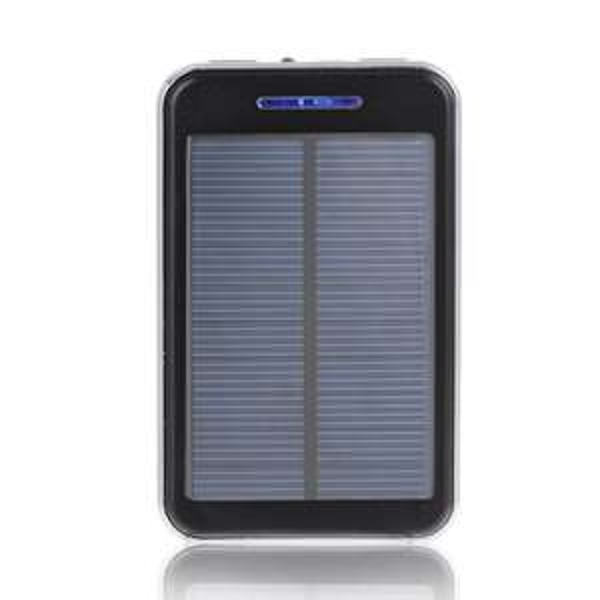 Amazon: Power Bank 16.000 mAh mit Solar Panel (diverse Farben, externer Akku)