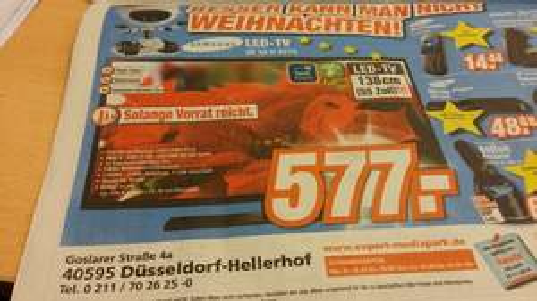 Samsung LED UE55 H 6273 eventuell lokal Düsseldorf Expert
