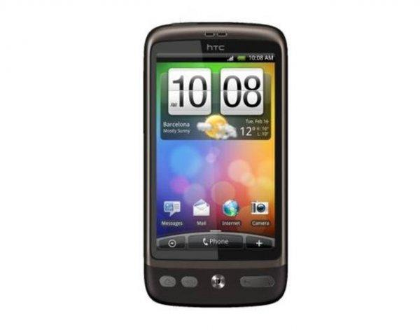 HTC Desire Smartphone 5 MP, HSPA, Android 2.1, HTC Sense @meinpaket.de 39,90 NEU