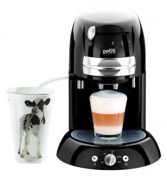 Petra Electric KM 42.17 - Kaffeepadmaschine mit Milchaufschäumer 49,99€ ohne Versandkosten