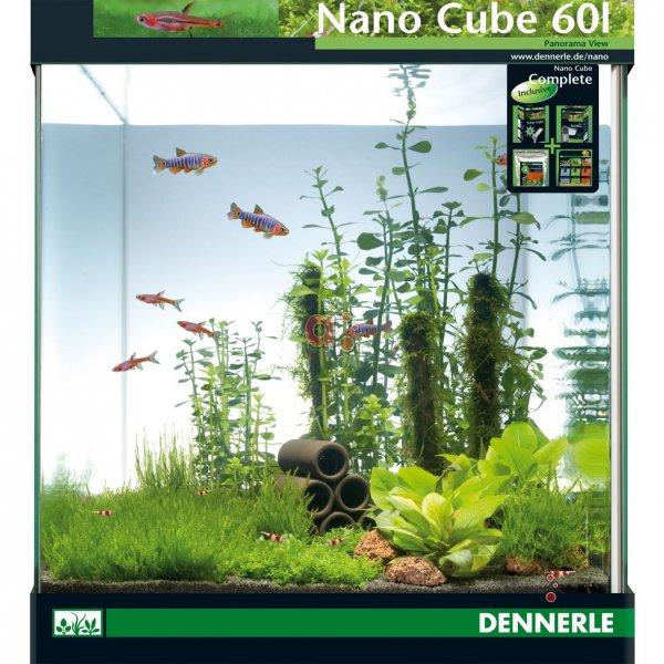 [aquaristic.net] Dennerle Nano Cube 60L Complete für 122,5€ + 5€ Gutschein + Qipu 5%