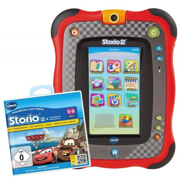 [Amazon.de] Storio 2 Cars Edition inkl. Lernspiel für 61,84 EUR alternative zu mytoys