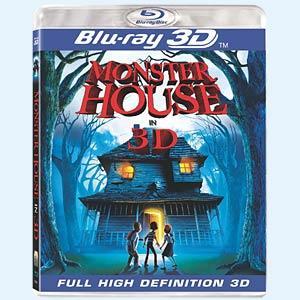 Blu-ray Monster House 3D
