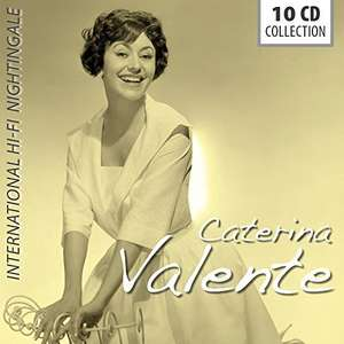 "Amazon Prime : CATERINA VALENTE 10-CD-Set ( 212 Songs) ""International Hi-Fi Nightingale"" für Nur 15,62  €"