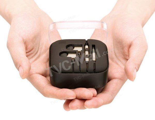 Update Original XIAOMI Piston In-Ear Kopfhörer Headset Braun/Gold von TVC MALL  für 13,66