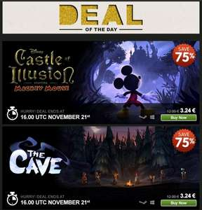 [STEAM] Castle Of Illusion, 2,60€, Greenmangaming