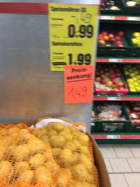 [Lokal Mannheim] Netto ohne Hund D3,3 - 7,5 KG Kartofeln 1,49Euro - 5KG Äpfel 2,49 Euro