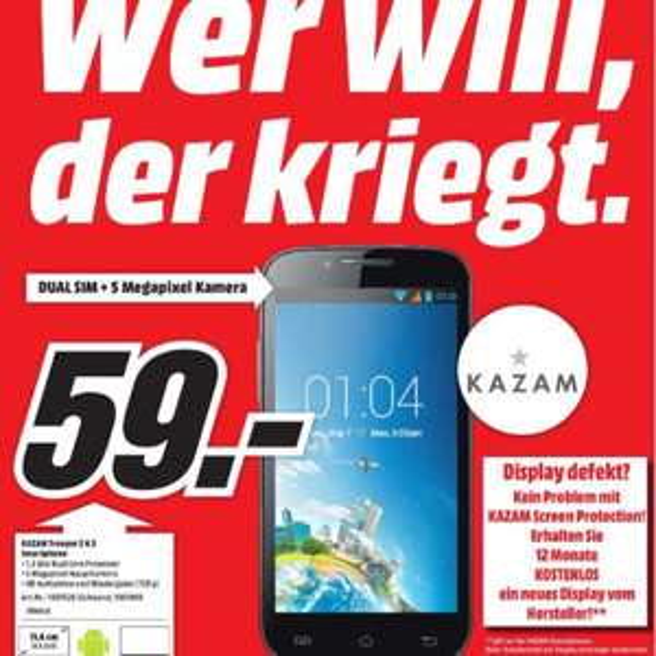 Kazam Trooper 2 4.5 bei MediaMarkt in und um München