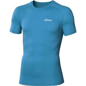 "Asics Laufshirts ""Men's Short Sleeve Running Top"" blau & gelb für 12,69€ / Asics Men's Mile Long Sleeve 1/2 Zip Performance Running Top für 26,65€ [zavvi.com]"