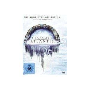 Stargate Atlantis - die komplette Serie für 80,95 EUR bei Amazon.de