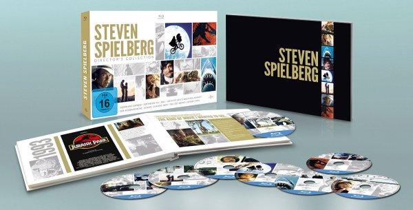 [media-dealer.de] Steven Spielberg Director's Collection (Blu-ray) für 45€ statt 61