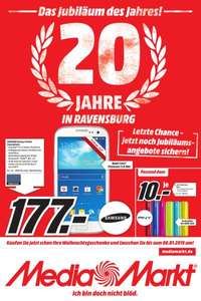 MediaMarkt Ravensburg Angebote (GoPro / Surface / Apple TV / ...)