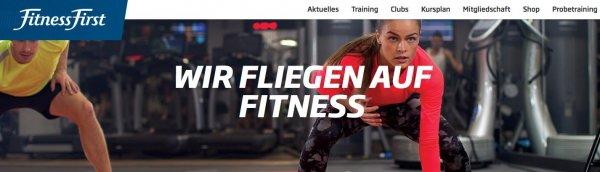FitnessFirst: 1 Woche gratis trainieren