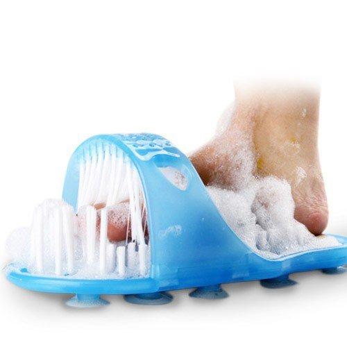 Wellness Badeschuh mit Bürste und Bimsstein für wohltuende Fußhygiene für 19€ @Amazon