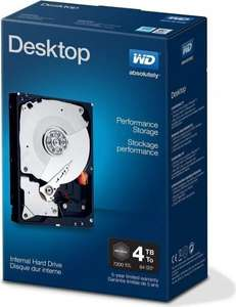 [Preisfehler?] Western Digital WD Desktop Performance 4TB für 153€