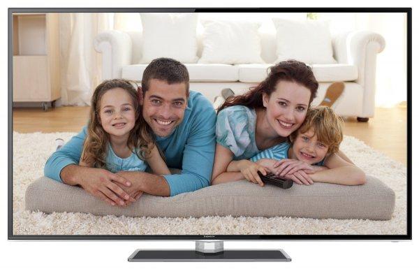 Amazon Blitzangebot:Thomson 55FZ5635 140 cm (55 Zoll) 3D LED-Backlight-Fernseher, EEK A+ (Full HD, 100Hz CMI, DVB-C/S/T, Smart TV, HbbTV, DLNA, CI+, Hotelmodus) inkl. Glasfuß schwarz @  599 Euro inkl. Versand