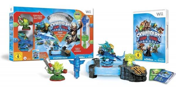 Skylanders Trap Team: Starter Pack (Wii) + Lebens Falle - Riot Shield Shredder gratis @ Amazon.de