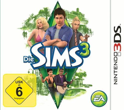 Nintendo 3DS - Die Sims 3 - 3D [@Buch.de]