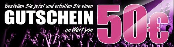 50,00 € Gutschein bei Bestellung ab 400,00 € bei MusicStore.de - viele gute Deals möglich