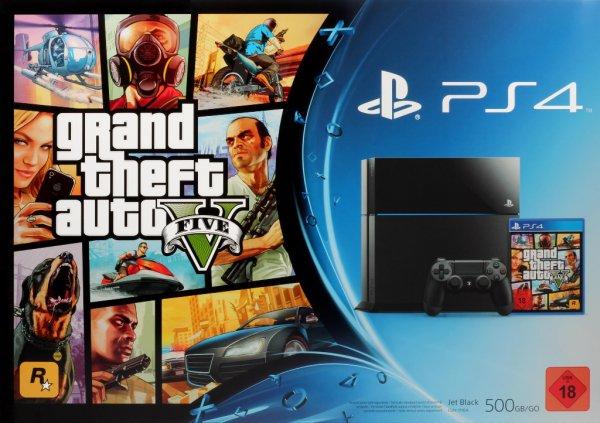 Sony PS4 + GTA V für 379€ @eBay