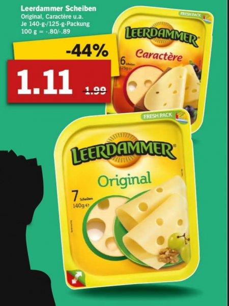Leerdamer Käse-Scheiben [Lidl]