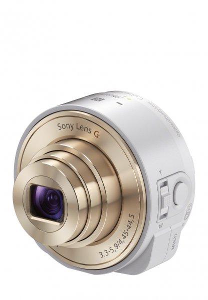 [Brands4Friends] SONY Smartshot Cybershot DSC-QX10W in weiß/gold für 74,90€